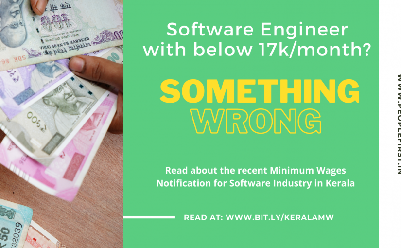 Software Engineer and Getting Paid below 17,742/- per month? Well, something's wrong! Let's look at the Minimum Wages!